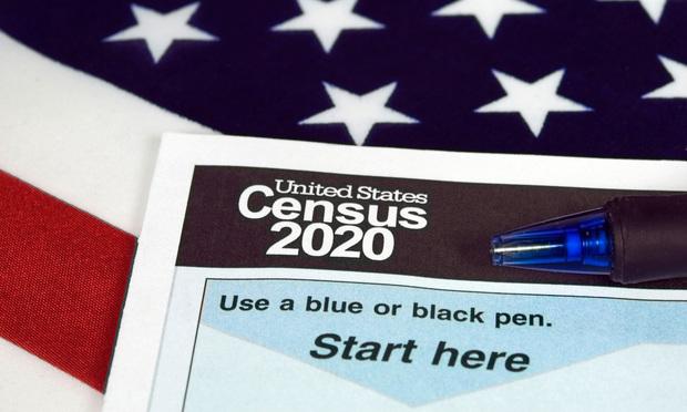2020 census form.