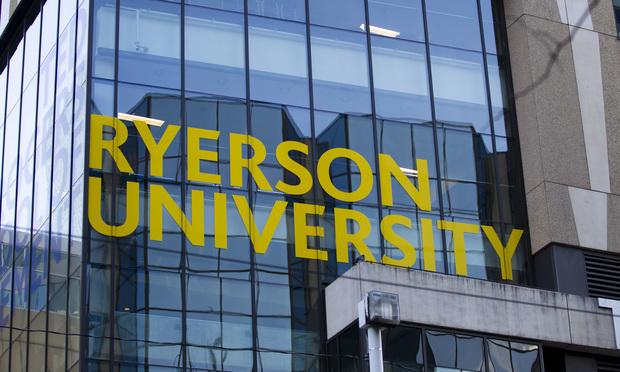 Ryerson University in Toronto, Canada.