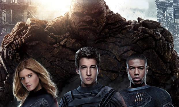 Fantastic Four film still.