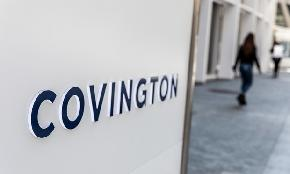 Covington Appoints New Data Privacy Practice Co Chair