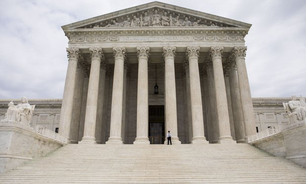U.S. Supreme Court building in Washington, D.C. (Photo: Diego M. Radzinschi/ALM)
