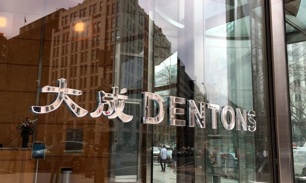 Dentons' offices