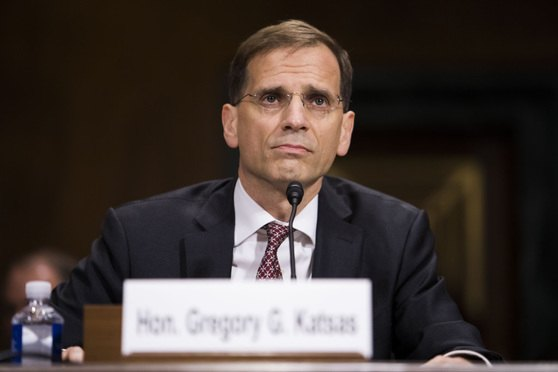 Gregory Katsas testifies before the Senate Judiciary Committee during his confirmation hearing to be a judge of the U.S. Court of Appeals for the District of Columbia Circuit, on Oct. 17, 2017. (Photo: Diego M. Radzinschi/ALM)