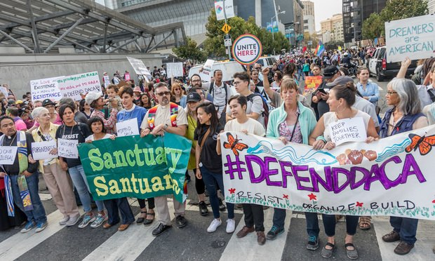 DOJ Appeals Judge's Ruling Stopping Trump From Ending DACA