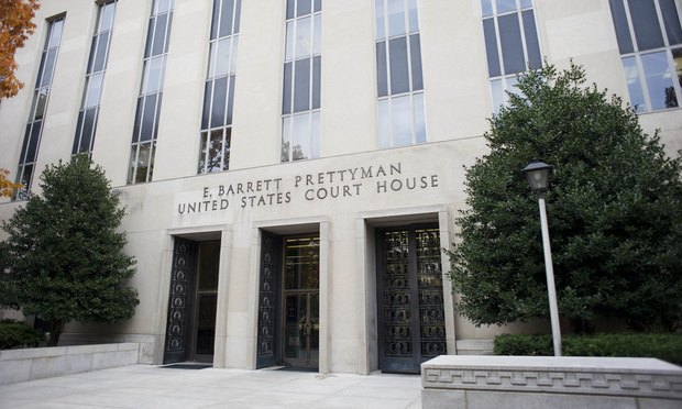 e barrett prettyman courthouse