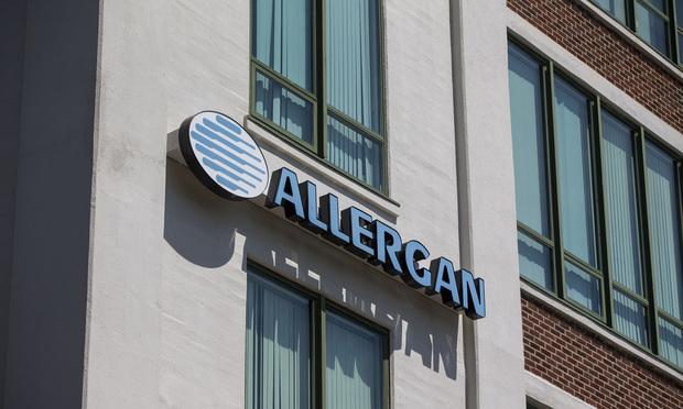 Allergan's office in Medford, Massachusetts.