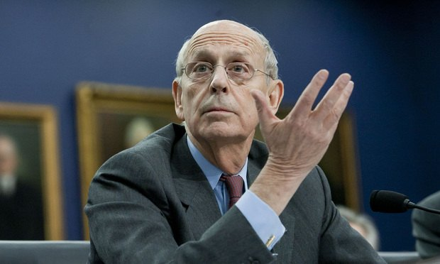 Justice Stephen Breyer during a House Committee on Appropriations Subcommittee on Financial Services hearing to review the Supreme Court budget request for fiscal year 2016. March 23, 2015.