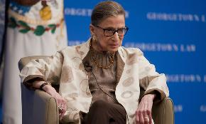 Justice Ruth Bader Ginsburg Champion of Women's Rights and Second Female Justice Dies at 87
