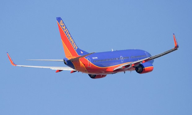 Southwest-Airlines, airplane, flying