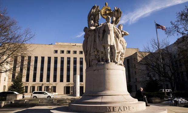 E. Barrett Prettyman courthouse in Washington, D.C. March 22, 2018. Photo: Diego M. Radzinschi/ALM