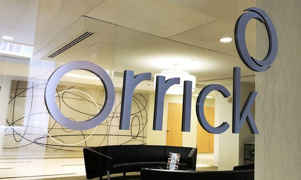 Orrick sign