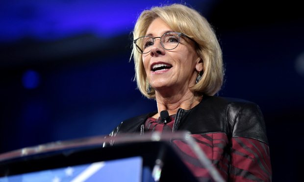 Devos Weighs Changes To Special Ed Rule >> Kangaroo Court Lawyers Weigh In On Betsy Devos Proposed Title Ix