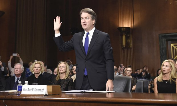 Outbursts Defiance And Deflection The Kavanaugh Hearing And