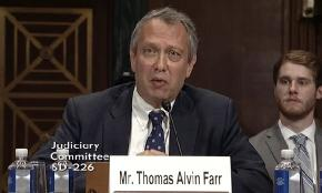 Not All Trump Court Nominees Get Confirmed: Thomas Farr Edition