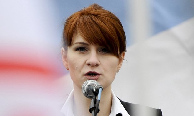 Maria Butina/photo by the Associated Press