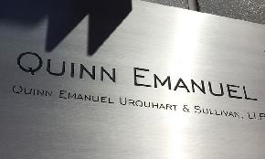 More Churn at Williams & Connolly as Patent Litigation Co Chair Heads to Quinn Emanuel