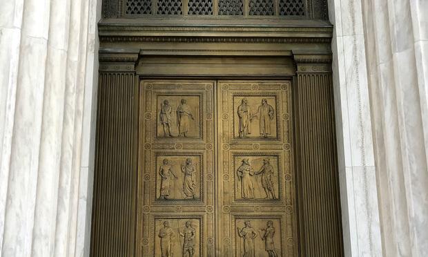 scotus door