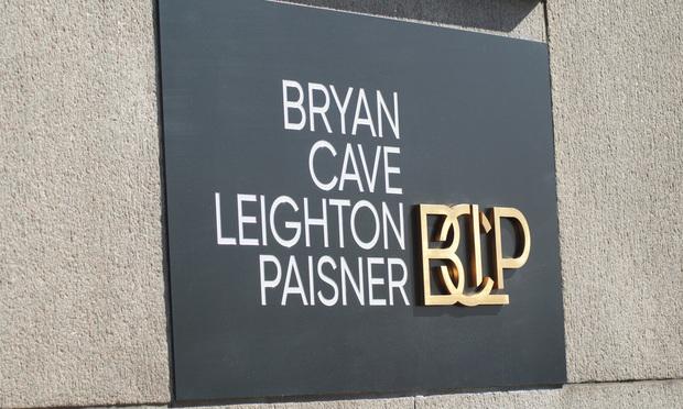 Bryan cave sign
