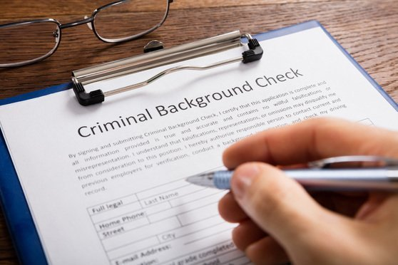 What shows up on a criminal history background check?