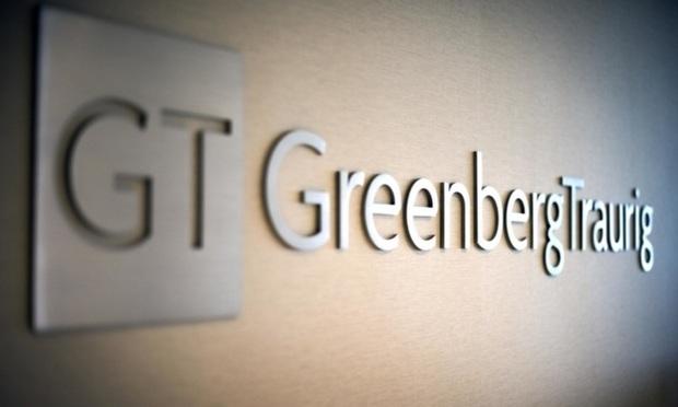 Greenberg Traurig sign