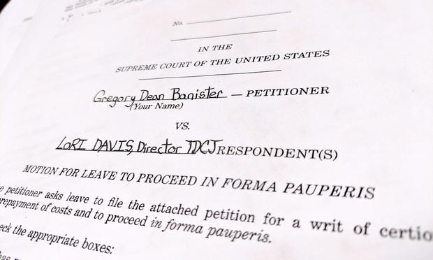 Supreme Court petition