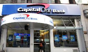 Capital One Hit With Civil Suits in DC Va Federal Courts Over Alleged Data Breach
