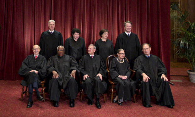 roup Photo of the U.S. Supreme Court Justices