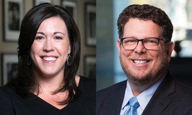 <i>Lara Day (left), chief culture and communications officer, and Mitchell Langberg (right), of Brownstein Hyatt Farber Schreck.   (Photo: Courtesy Photo)</i>