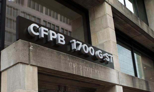 CFPB sign