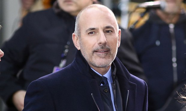 Matt Lauer appears NBC Today Show on November 17, 2017, in New York City.