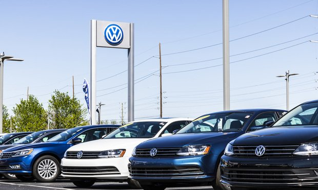 Volkswagen Cars and SUV Dealership.