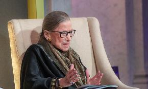 Ginsburg Hospitalized 'Resting Comfortably' After Treatment for Possible Infection