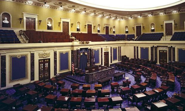 U.S. Senate Chamber. Credit: Architect of the Capitol.