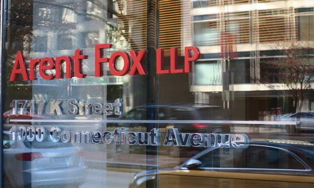 Arent Fox office in Washington, D.C.