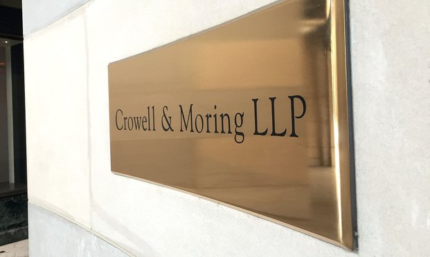 Crowell & Moring offices in Washington, D.C. (Photo: Diego M. Radzinschi/NLJ)