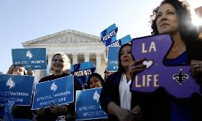 What Alito Alone Found 'Amazing' at Abortion Clinic Arguments