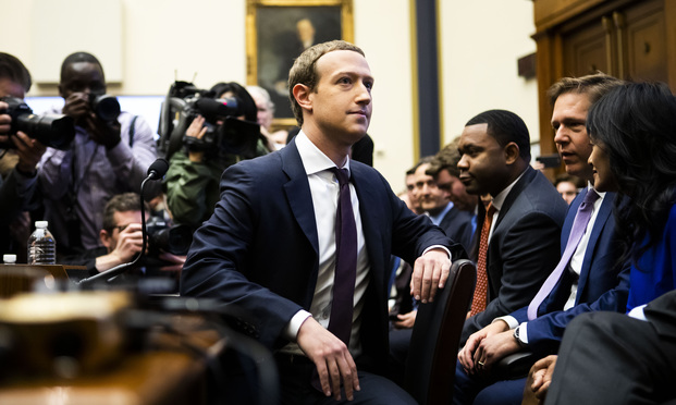 Facebook CEO Mark Zuckerberg testifies before the House Financial Services Committee on Capitol Hill, on Wednesday, October 23, 2019.