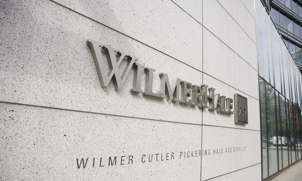 WilmerHale sign.