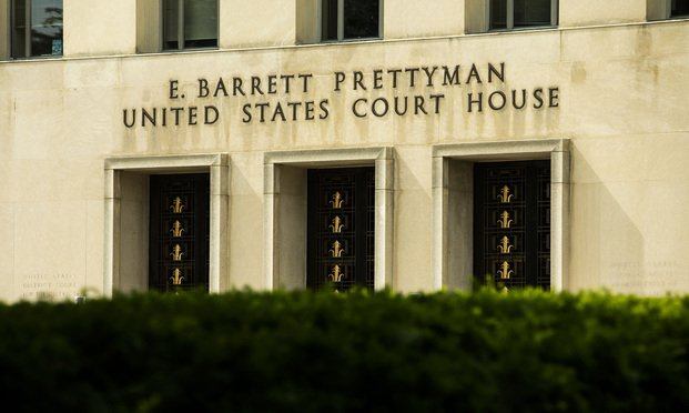 The E. Barrett Prettyman U.S. Courthouse in Washington, D.C.