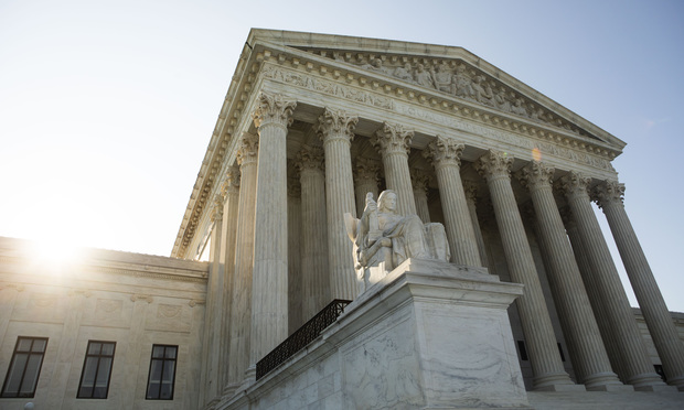 The U.S. Supreme Court building in Washington, D.C. July 22, 2019.