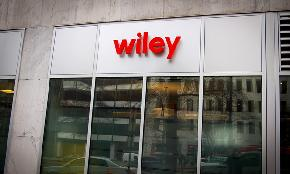 As FDA Regulatory Work Builds Wiley Picks Up Pair From Morgan Lewis