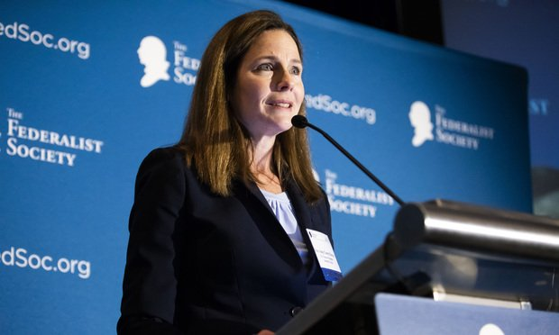 Amy Coney Barrett, U.S. Court of Appeals for the Seventh Circuit.