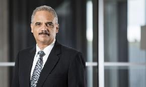 Covington's Eric Holder Bills at 2 295 Hourly New Legal Services Contract Shows