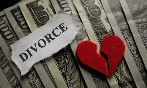 divorce alimony child support broken heart money