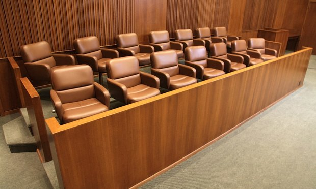 jury box courtroom