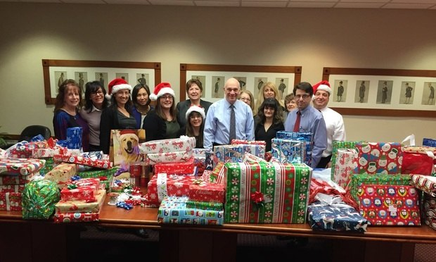 "Cohn, Lifland Staff Help Bergen Volunteer Center ""Wrap It Up"" For Holidays"