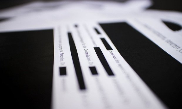 Redacted document/photo by Diego M. Radzinschi/NLJ