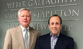 Weber Gallagher's NJ Office Nabs 5 Med Mal Laterals From Wilson Elser