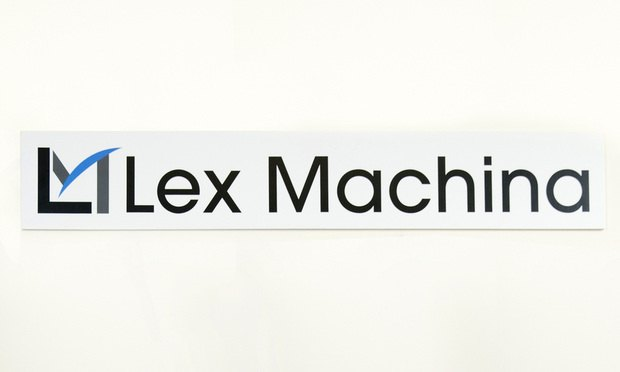 Lex Machina logo/credit: Jason Doiy/The Recorder