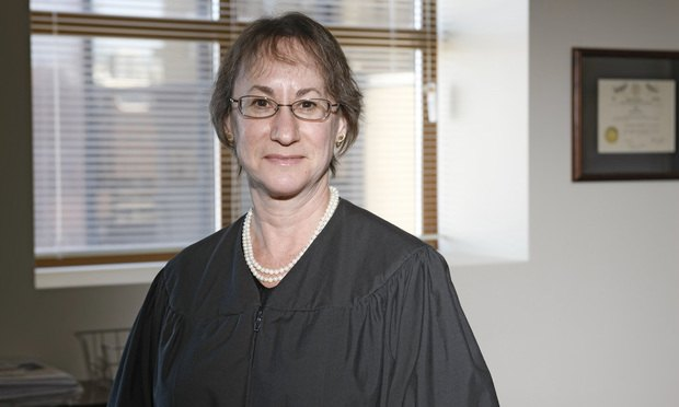 Appellate Division Judge Susan Reisner/photo by Carmen Natale